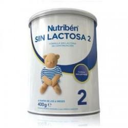 Nutriben sin lactosa 2 400 g
