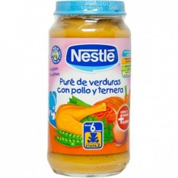 Nestle pollo pure verduras...